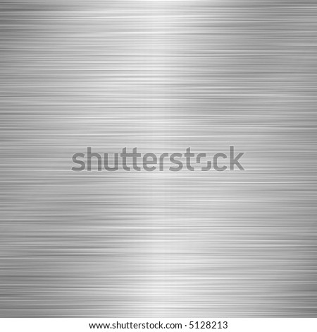 Brushed Metal - stock photo