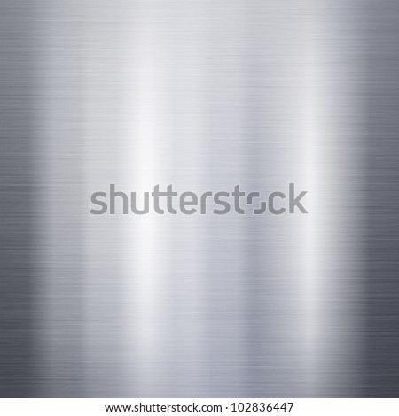 Brushed metal aluminum background or texture - stock photo