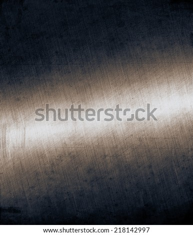 Brushed Metal Background - stock photo