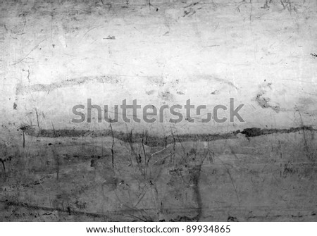 Brushed metal background - stock photo