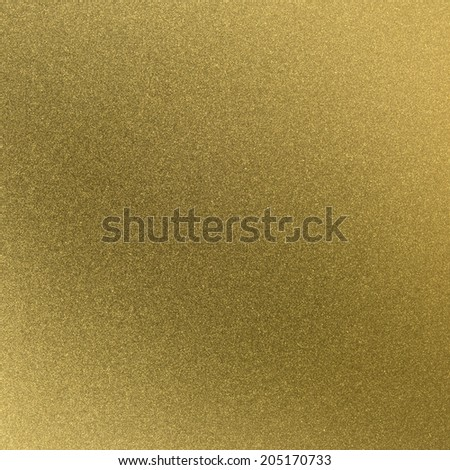 brushed metal gold plate background - stock photo