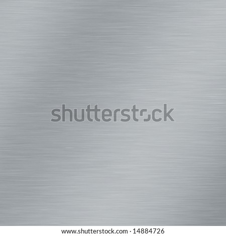 brushed metal, seamless texture - stock photo