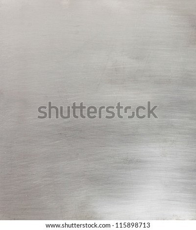 Brushed metal surface background - stock photo