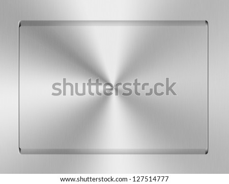 Brushed metal texture abstract background. - stock photo