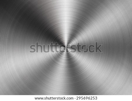 Brushed metal texture abstract background - stock photo