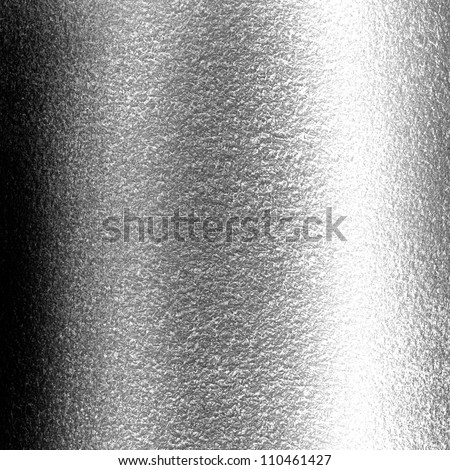 Brushed metal texture with some reflections and highlights - stock photo