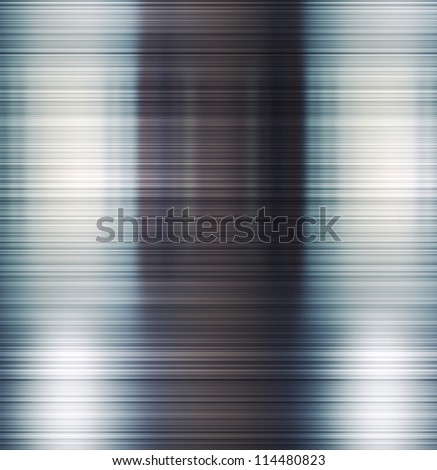 Brushed shiny metal texture. Abstract background. - stock photo