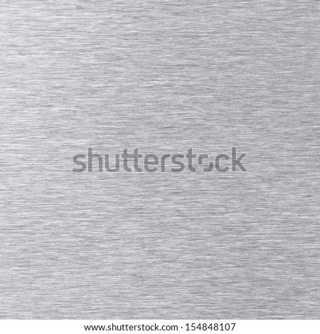 Brushed stainless steel texture - stock photo