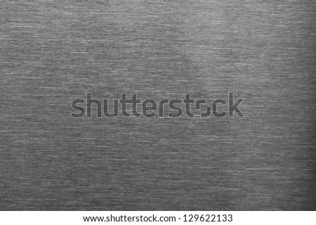 Brushed steel texture - stock photo