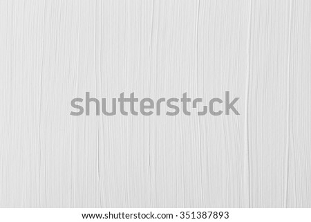 Brushed white wall texture grungy dirty background - stock photo