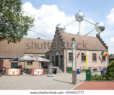 BRUSSELS, BELGIUM - 13 MAY 2016: on the street of Brussels. - stock photo