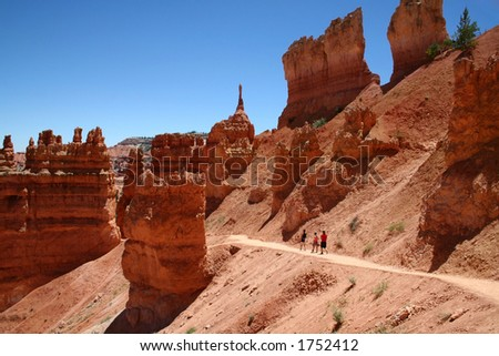Bryce canyon national park. - stock photo