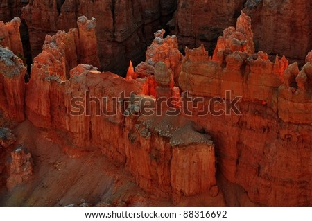 Bryce Canyon National Park in Utah-28 - stock photo