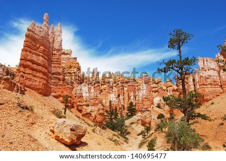 Bryce Canyon national park, USA - stock photo
