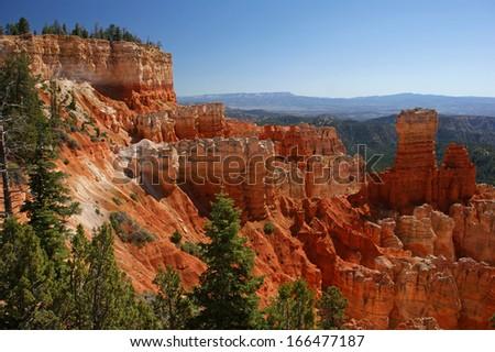 Bryce Canyon National Park - Utah - stock photo
