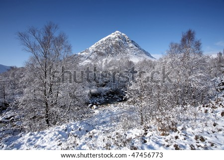 Buachaille Etive Mor - stock photo
