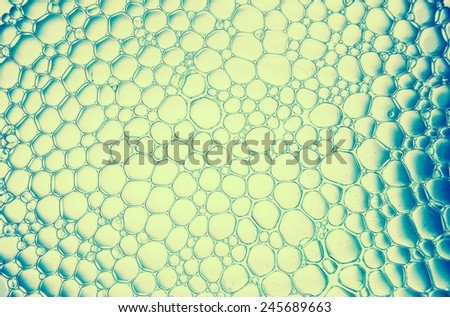 bubble background. Retro stale. - stock photo