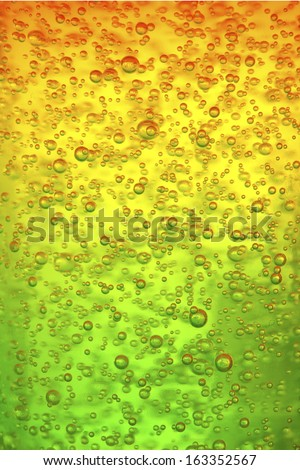 Bubble rainbow jelly colorful texture - stock photo