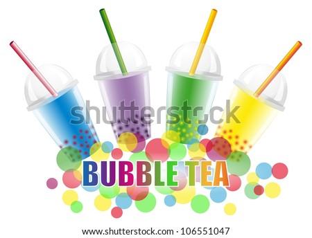 bubble tea - stock photo