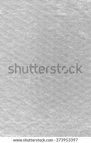 Bubble Wrap Texture Abstract Background, Detailed Textured Vertical Macro Closeup, Bright White Patternclear plastic air bubbles bubblewrap packaging wrapper material - stock photo