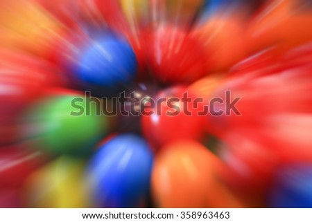 Bubblegum ball explosion background - stock photo