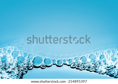 BUBBLING WATER BACKGROUND - stock photo