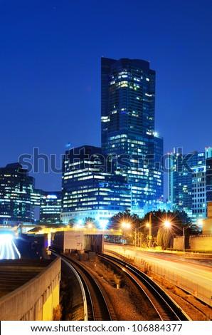 Buckhead is the uptown district of Atlanta, Georgia, USA. - stock photo