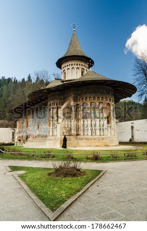 Bucovina Chruch - stock photo