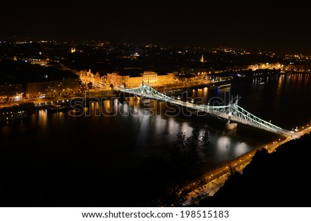 Budapest by Night - stock photo