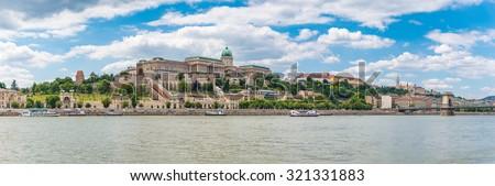 Budapest panorama city skyline, Budapest, Hungary - stock photo