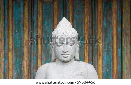 Buddha figure - stock photo