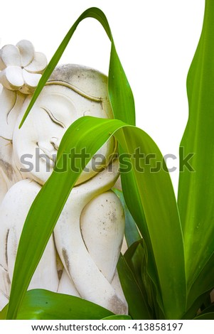 Buddha in Bali - stock photo