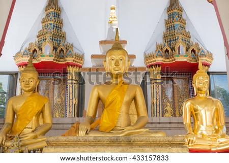 Buddha statue,Thailand - stock photo