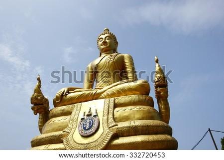Buddha stutue - stock photo