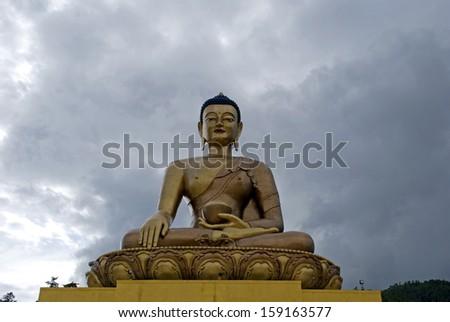 Buddha, Thimphu, Bhutan - stock photo
