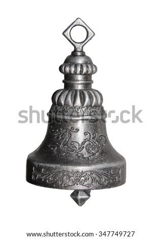 Buddhist bell - stock photo