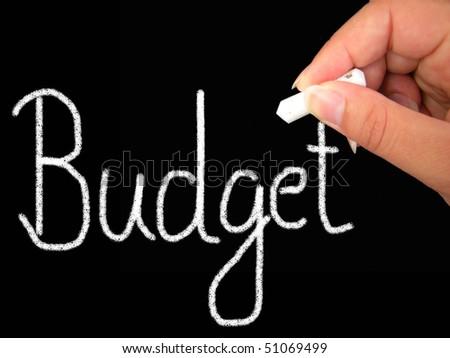 budget - stock photo