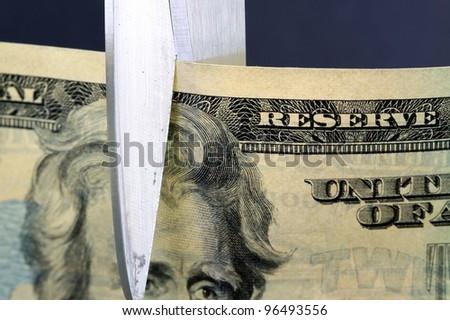 Budget Cuts - stock photo