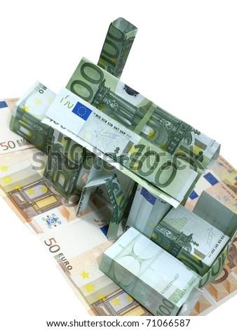 budget money - stock photo