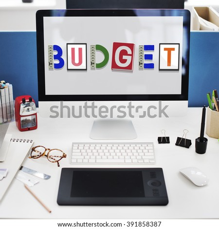 Budget Savings Banking Money Finance Concept - stock photo
