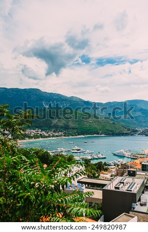 Budva Montenegro - stock photo