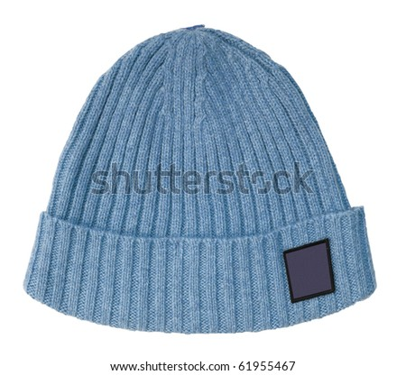 bue cap - stock photo