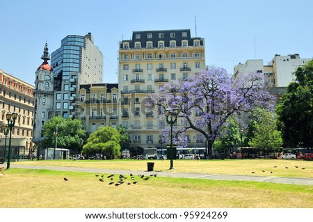 Buenos Aires park. - stock photo