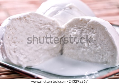 Buffalo Mozzarella  - stock photo