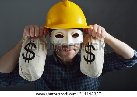 Builder Cowboy  - stock photo