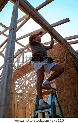 Building a Home - stock photo