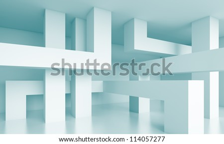 Building Blocks Background - stock photo