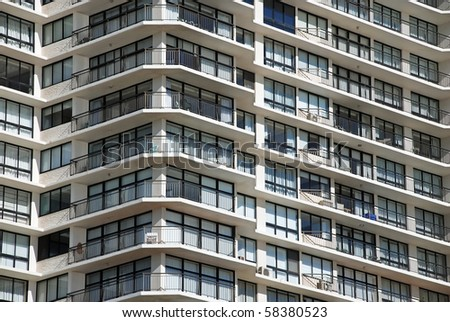 Building detail - stock photo