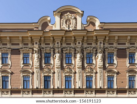 Building frontage - stock photo