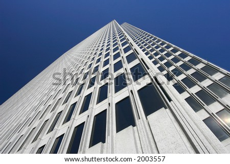 Building in Financial District, San Francisco - stock photo